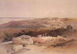 Gaza David Roberts